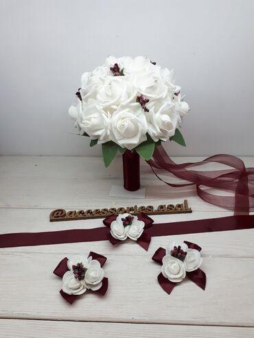 Свадебный букет невесты Цена за набор Пишите на вотсап, скину варианты