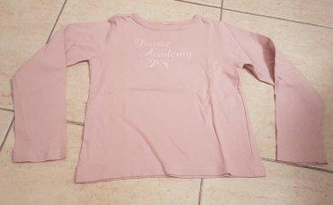 Majica za devojcice dugih rukava nezno roza boje broj 4 - Belgrade