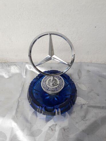 Mercedes Kapot Emblemi Aşağı Fırlanan Hissəsi Paykalanıb Deyə Bu
