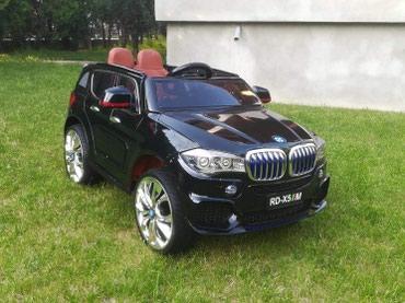 Na prodaju potpuno novi automobili bmw x5 za decu uzrasta od 2 do 8 - Vranje