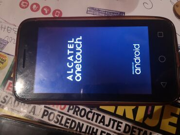Manji mobilni telefon Marke Alcatel One Touch Ekran osetljiv na dodir