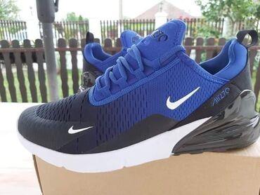 Plavo-crne Nike 270 Lagane, preudobne Brojevi: 46 Cena 2699 din