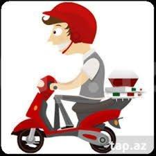Bakı şəhərində Oz motosikleti ile motokuryer teleb olunur....  Is saati  10;00dan