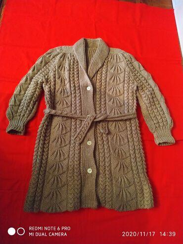 Профнастил 0 45 цена - Кыргызстан: Продаю шерстяной махер 100% кардиган вязанныйочень теплый,размер