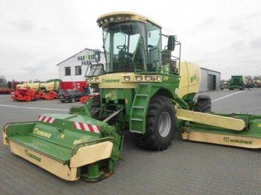 Bakı şəhərində Krone big m 400 (№: 12153)  - 2011 г. в. - наработка: 1511 ч.  -