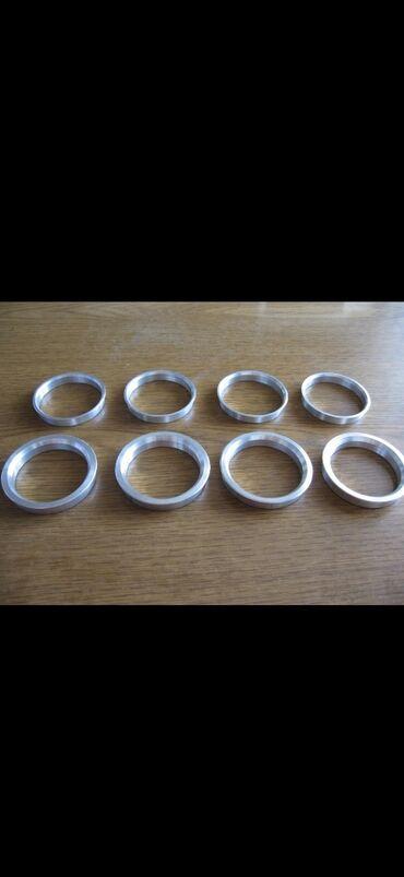 шины и диски в Кыргызстан: Центровочные кольца на диски автомобиля, размеры: 54.1-57.1 64.1-60.1