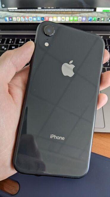 IPhone Xr   64 ГБ   Черный Б/У   Гарантия, Беспроводная зарядка, Face ID