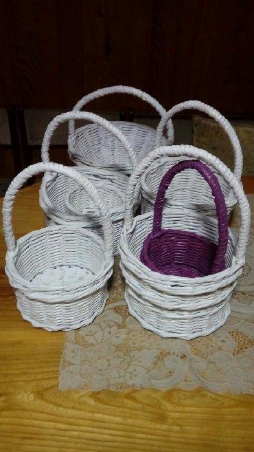 | Zlatibor: Pletene korpice 1 kom 250 din