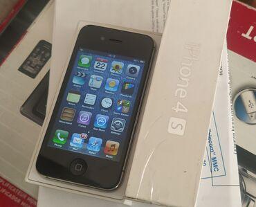 зарядка iphone 4s в Азербайджан: Б/У iPhone 4S 16 ГБ Черный