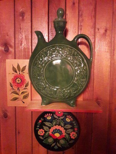 Кувшин для декора керамический в Бишкек