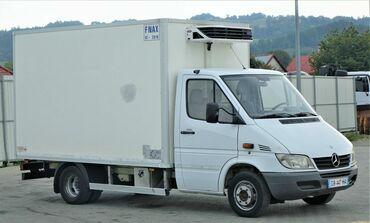 Рефрижератор бу купить - Кыргызстан: Услуги спринтера с холодильником  рефрижератор Mercedes-Benz Sprinter