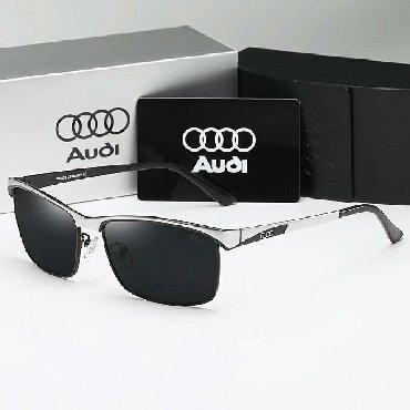 AUDI 2020, мужские солнцезащитные очки, поляризационные, для вождения