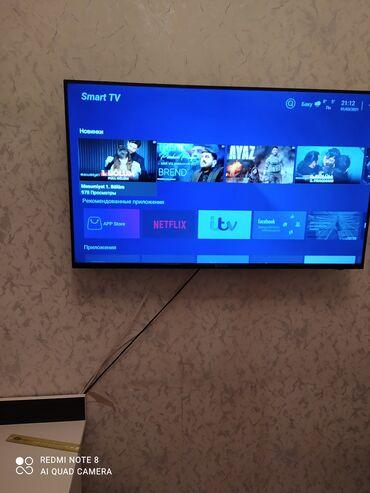 televizor 109 cm - Azərbaycan: Smart tv Ziimer ekran 109
