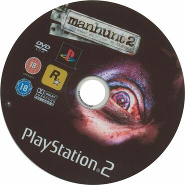 Elektronika Qubada: Ps2 Manhunt 2 ( Rockstar Game )