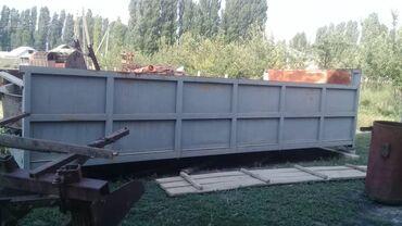 Транспорт - Пульгон: Бортовый прицеп длина 6метр ширина 2.7метр