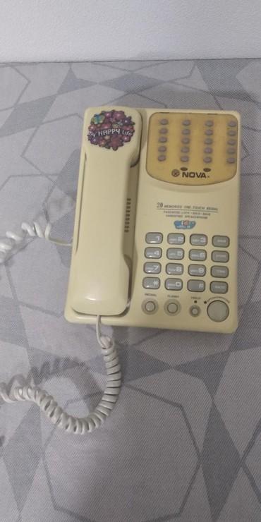 Телефон-флай-fs407 - Кыргызстан: Стационарный телефонс множеством функций, в рабочем состоянии