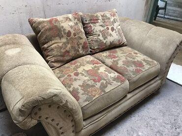 Σετ Μεταχειρισμένοι καναπέδες 2 και 3 θέσεων. Πωλούνται σετ