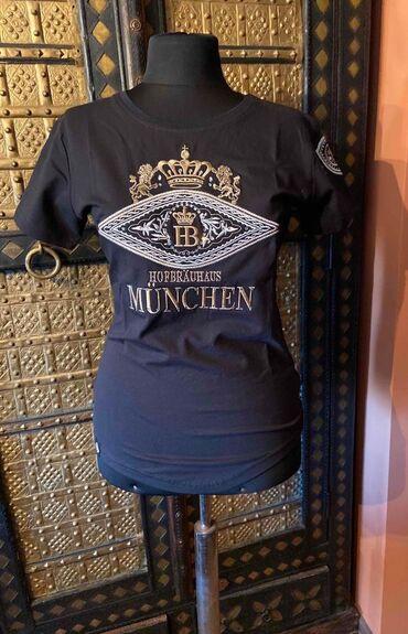 �������������� �������� ������������ в Кыргызстан: Изумительная женская футболка с вышивкой размер М, абсолютно новая