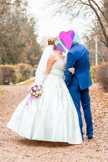 Личные вещи - Орловка: Продаю шикарное свадебное платье из натурального, королевского плотног