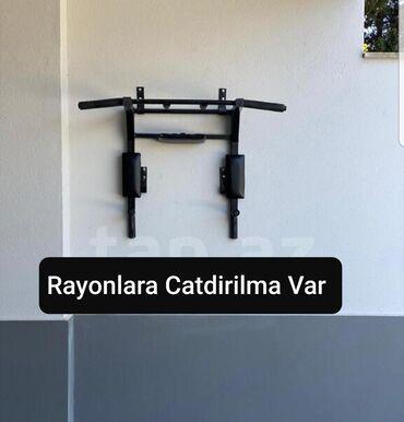 Turnik - Azərbaycan: Sexde hazirlanir qalin profilnen yigilir Keyfiyyete 2 il zemanet
