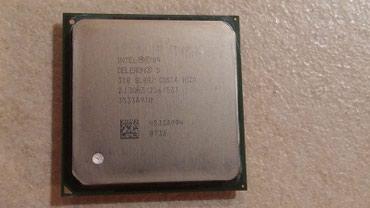 Процессор Celeron D310, 2,13 Ghz, 478 сокет, б/у в Бишкек