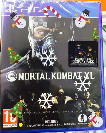 Bakı şəhərində Ps4 oyunu. Mortal kombat teze upokovkada️