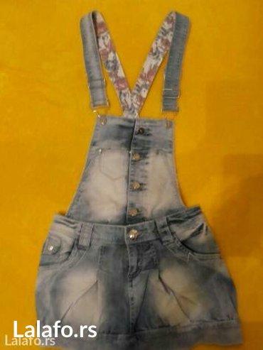 Teksas mini haljina 👑 veličina 27 tregeri se skidaju i onda je mini s - Beograd