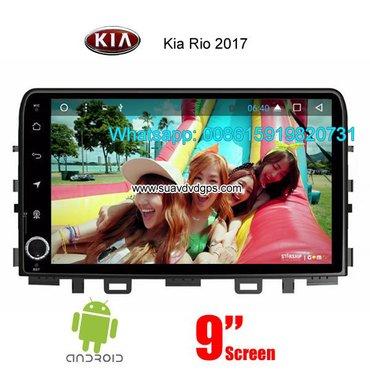 Kia rio 2017 car audio radio android wifi gps camera in Kathmandu - photo 2