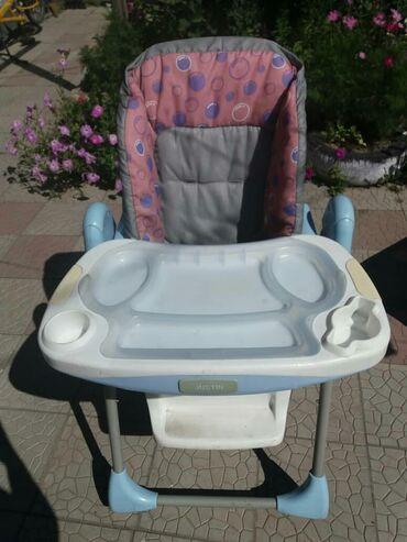 стулья для гостинной недорого в Кыргызстан: Стульчик для кормления.фирменный хорошего качества.бу