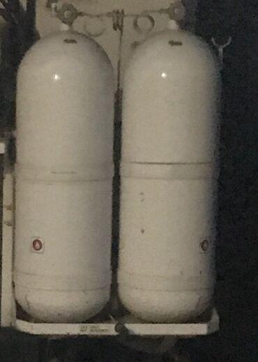Газ баллон цена - Кыргызстан: Продаю метан Баллоны  Есть 4 шт  Большие примерно по 90л Цена за шт