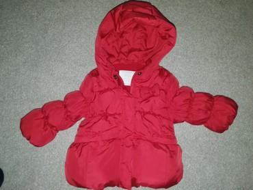 Zara, jakna za bebe devojčice. Vel 74, od 6-9 meseci. Preslatka - Belgrade