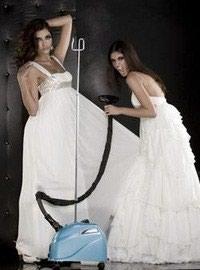 Химчистка свадебного платья 800сом