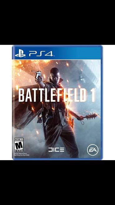 Bakı şəhərində Battlefield 1 PS4 ucun. Rus dilindedi. Cizqi yoxdur, ela veziyetdedi.