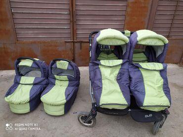 Продается коляска для двойни tako jumper duo