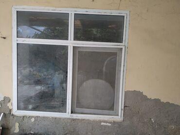 pencere - Azərbaycan: Satılır plastik pencere 1 eded qiymet 55₼ ölçü 1.30 sm 1.37 sm ünvan