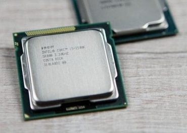 Процессор I5 2500K! 1155 сокет   4 ядра   4 в Бишкек