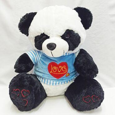 черное платье размер 38 в Кыргызстан: Мягкая панда игрушка.Для того, чтобы ребенок был счастлив достаточно