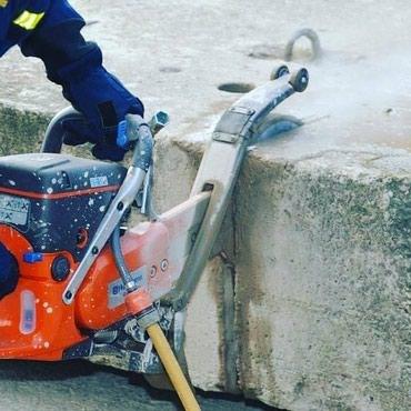 Услуги бетонореза в Бишкек