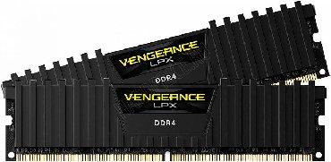 Оперативная память в Кыргызстан: Продам новую Corsair Vengeance DDR4 16gb 3000mhz. Упаковку не