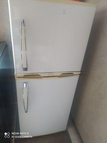 Электроника - Каирма: Б/у Двухкамерный | Белый холодильник