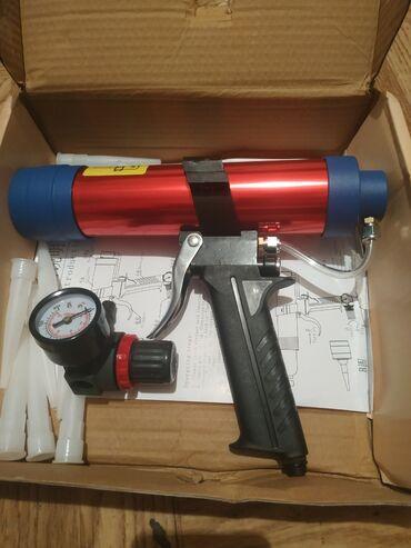 пневматический пистолет бишкек in Кыргызстан | ИГРУШКИ: Пневматический пистолет для герметика новый . Отлично ложет швы на