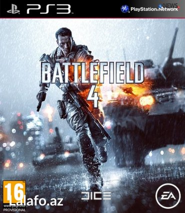 """Bakı şəhərində """"Battlefield 4"""" Ps3 diski"""