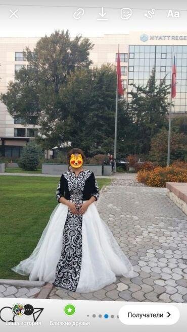 вечернее платье 48 50 размер в Кыргызстан: Продаю шикарное платье на кыз узатуу от бренда Айпери