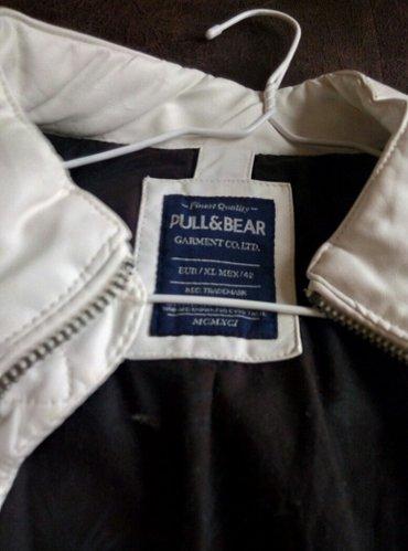 Potpuno nova pull&bear jakna od eko kože, postava 100 %pamuk. Evro - Beograd