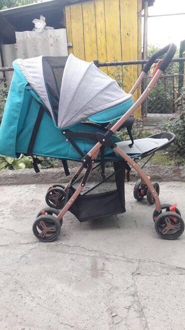 коляска-амели в Кыргызстан: Коляска в хорошем состоянии. Складывается компактно. На каждом колесе