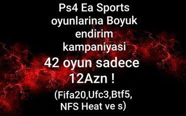 ps4 oyunlari - Azərbaycan: EA sports terefinden boyuk endirim son 1 gun42 eded oyun sadece 12