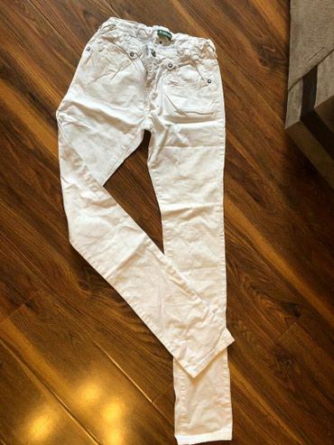 Продаю летн. белые джинсы. в отл. сост. в Бишкек