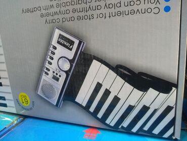 Musiqi alətləri - İmişli: Qatlanan piano hand roll