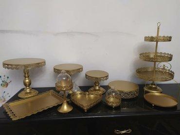 прокат посуды в Кыргызстан: Посуда для кенди бара в аренду