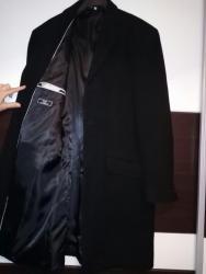 Muška odeća | Kovacica: Muski elegantan kaput,kvalitetan,nov,vuna i kasmir. Marka VIA